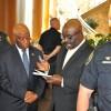 Liberia's Vice President Arrives in Minnesota