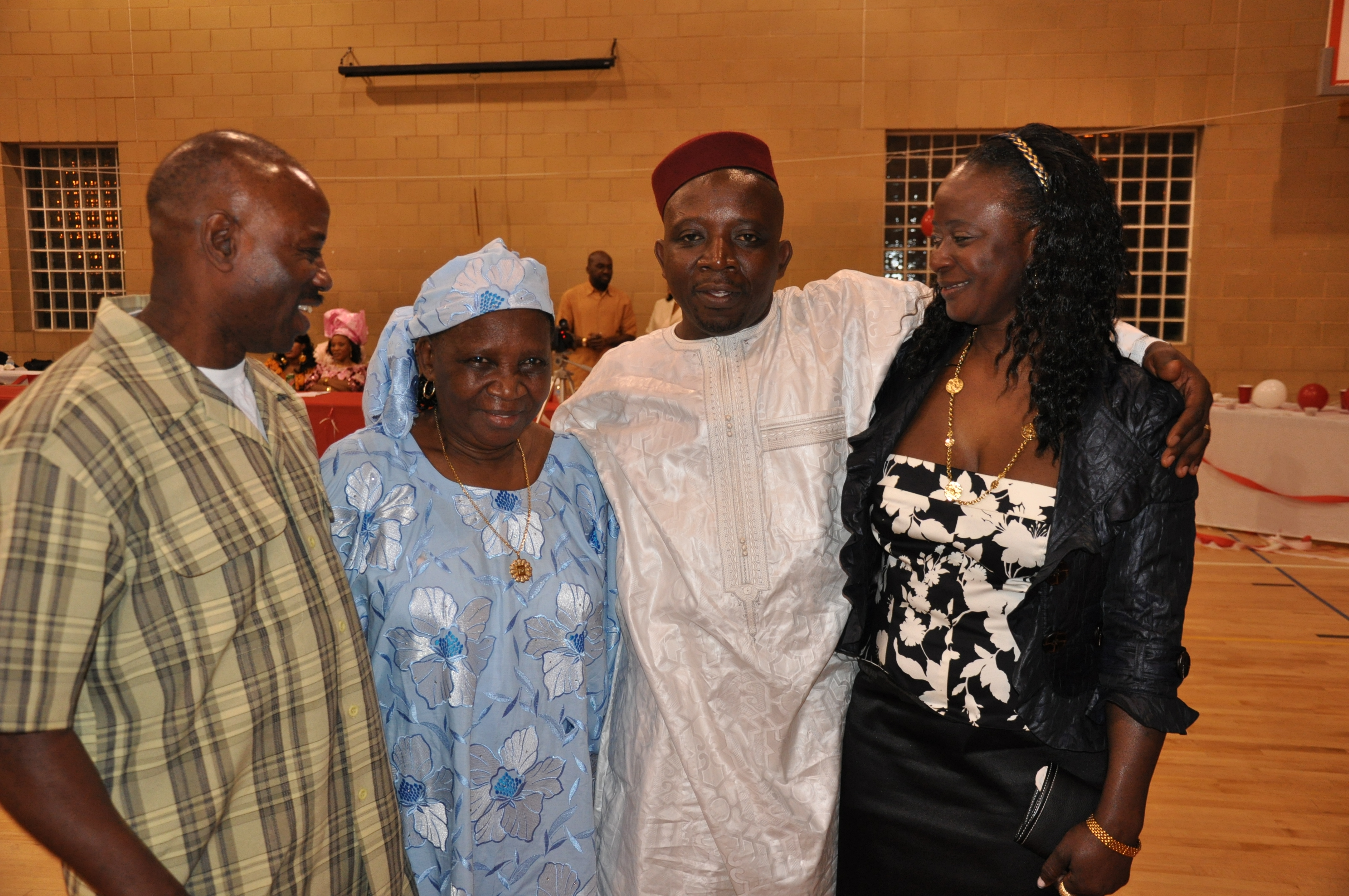 A Sierra Leonean Elder (in blue). Photo: The AfricaPaper Archive