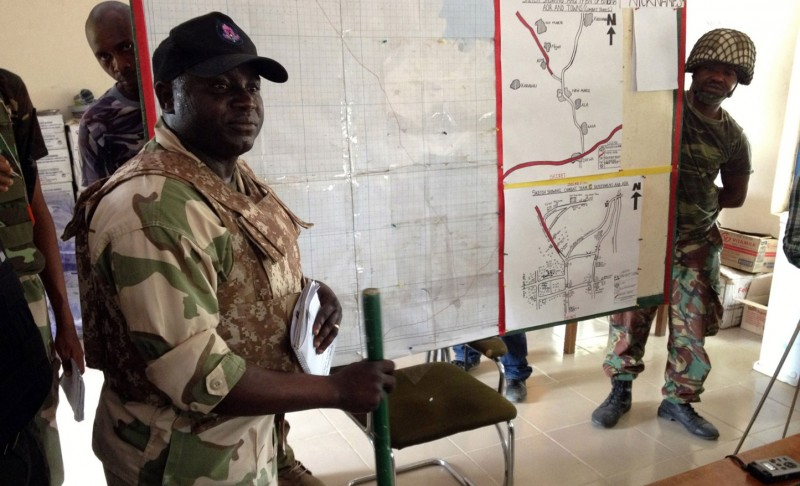 The hunt is on: The army targets Boko Haram army strongholds along the porous borders that Nigeria shares with Chad, Niger and Cameroon.