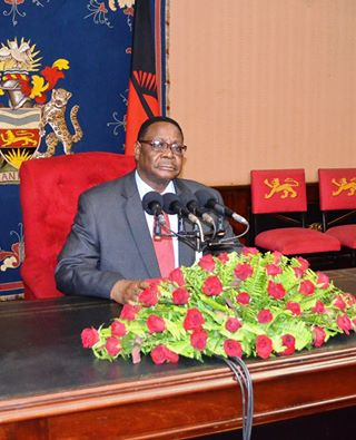 Malawi President Peter Mutharika. Photo: Henry Mhango/The AfricaPaper