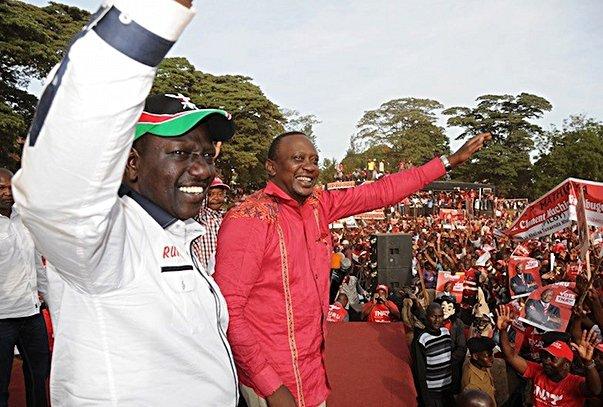 kenya-uhuru-ruto-rally