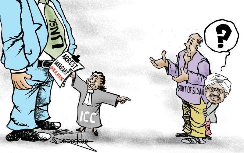 ICC and al-Bahir Cartoon