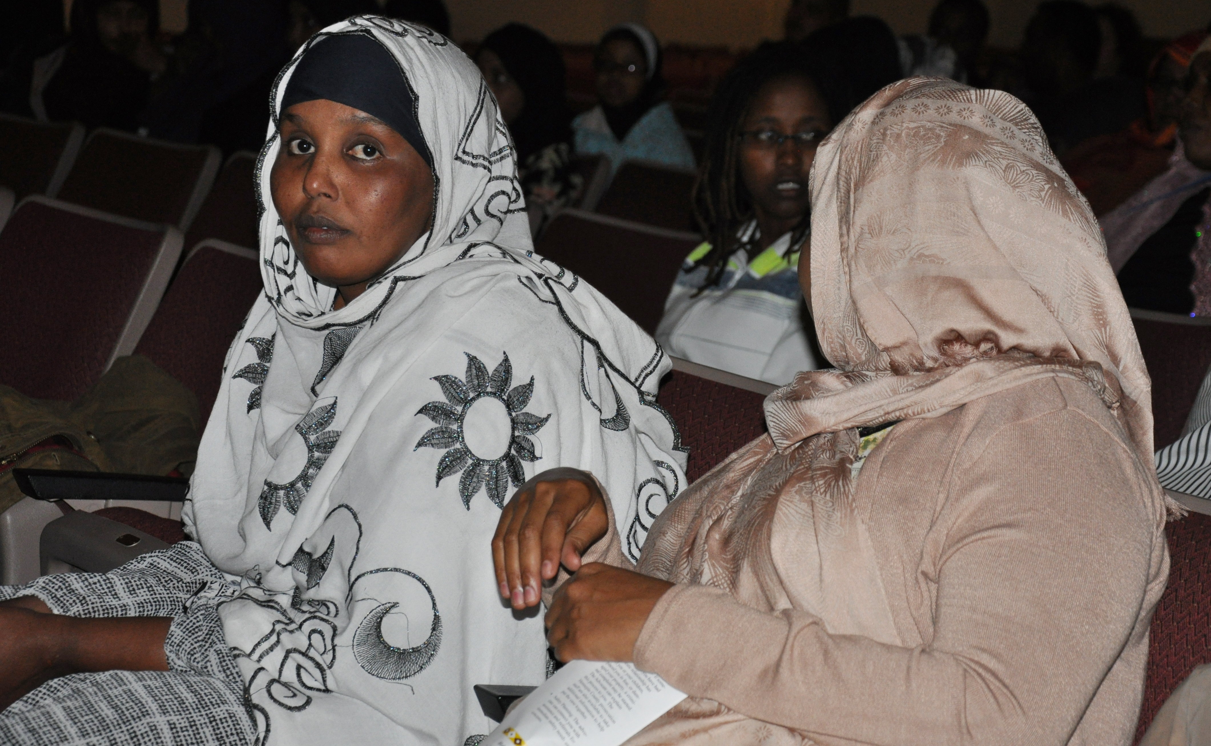 Somali mothers at the community gathering. Photo: Issa A. Mansaray/The AfricaPaper