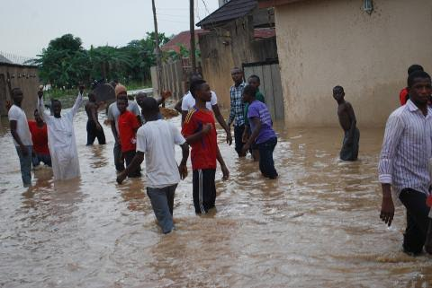Kaduna, the flood dozens of farm lands. Photo: Mohammad Ibrahim/The AfricaPaper
