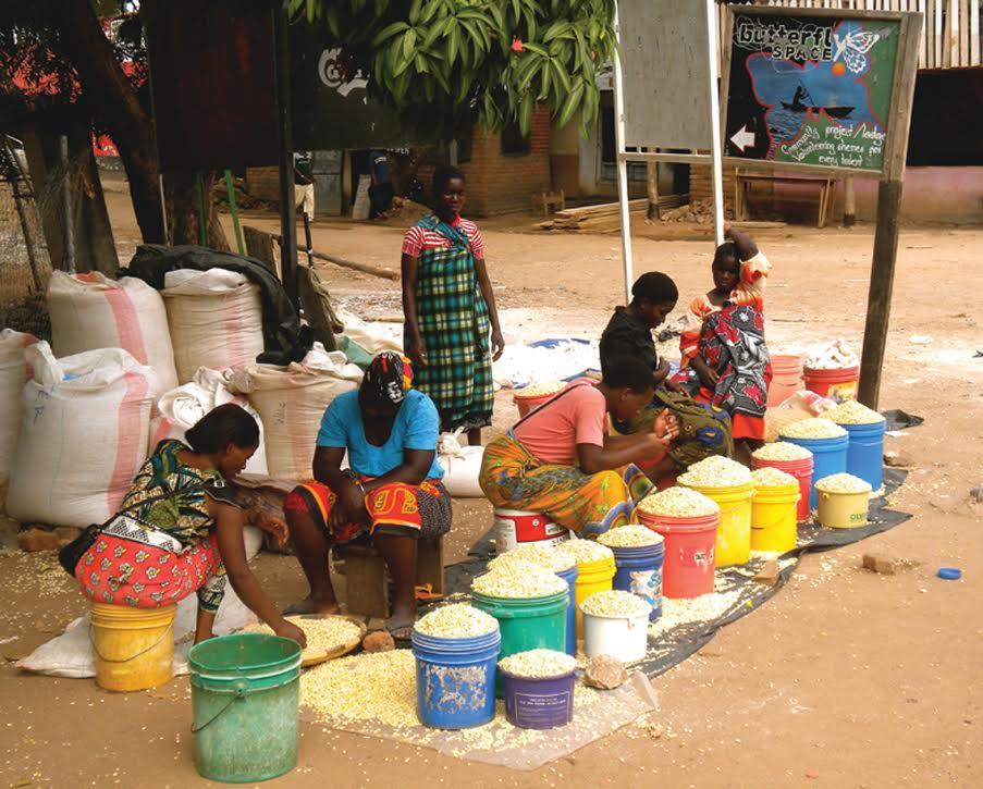 Food Market. Photo The AfricaPaper/Joseph Kayira