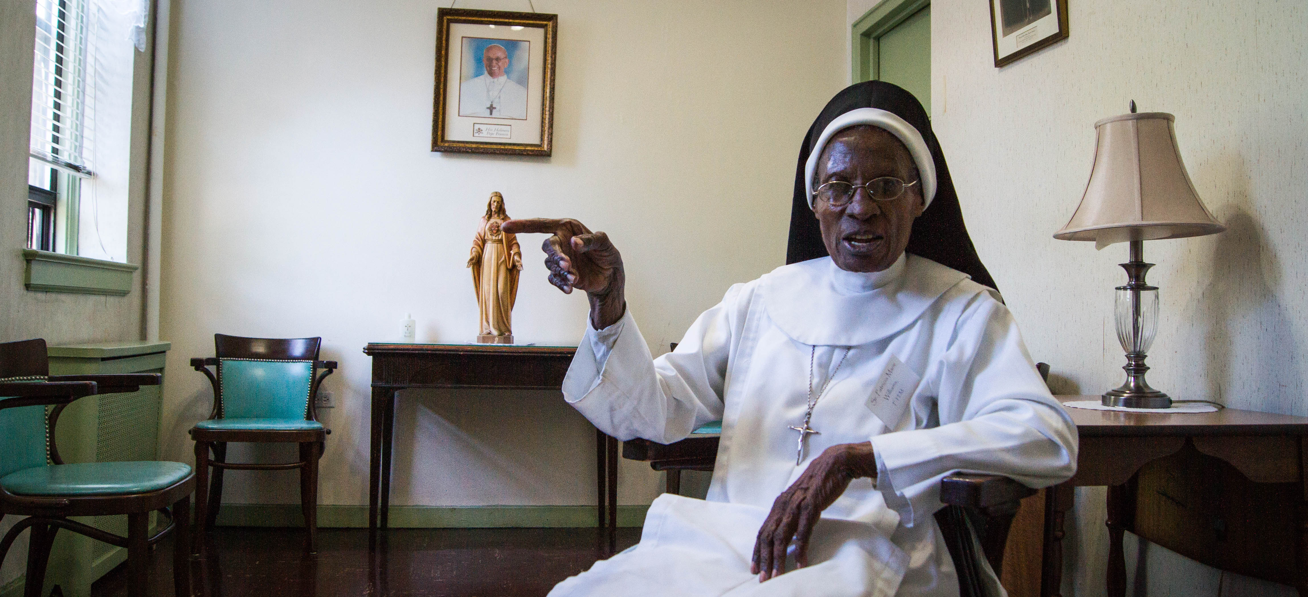 Sister Patricia Marie Williams. Photo: Benjamin Parkin