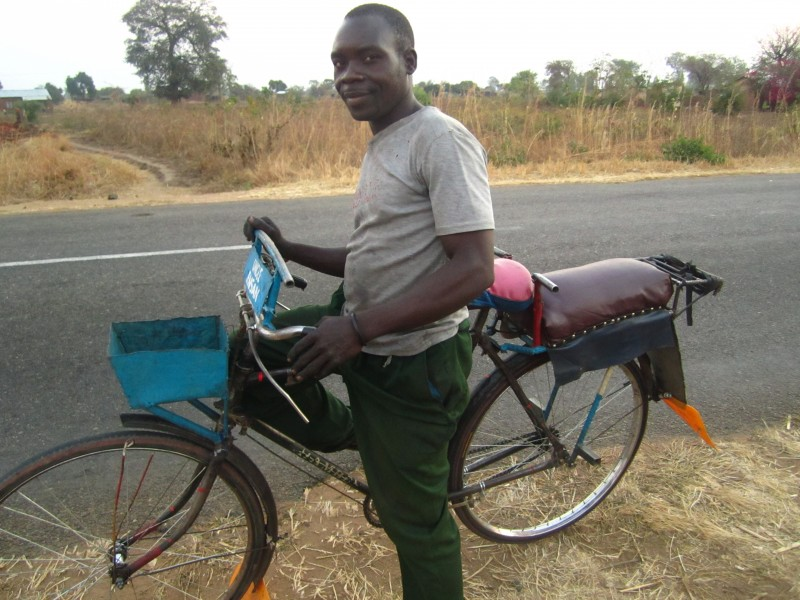 Bike Taxi in Malawi