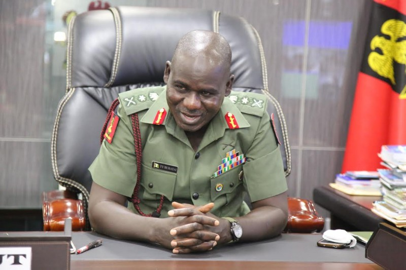 Nigerian Military Chief  Tukur Yusufu Buratai. Photo: The AfricaPaper/Mohammad Ibrahim