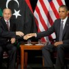 New Libyan Leader Meets Obama and World Leaders in New York