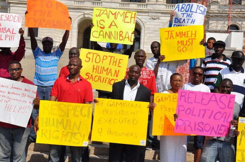 Activists Set To Confront Jammeh