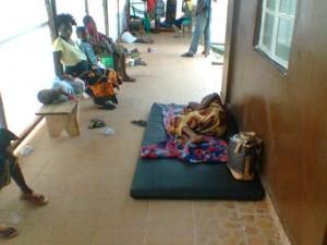 An Ebola Center in Kenema
