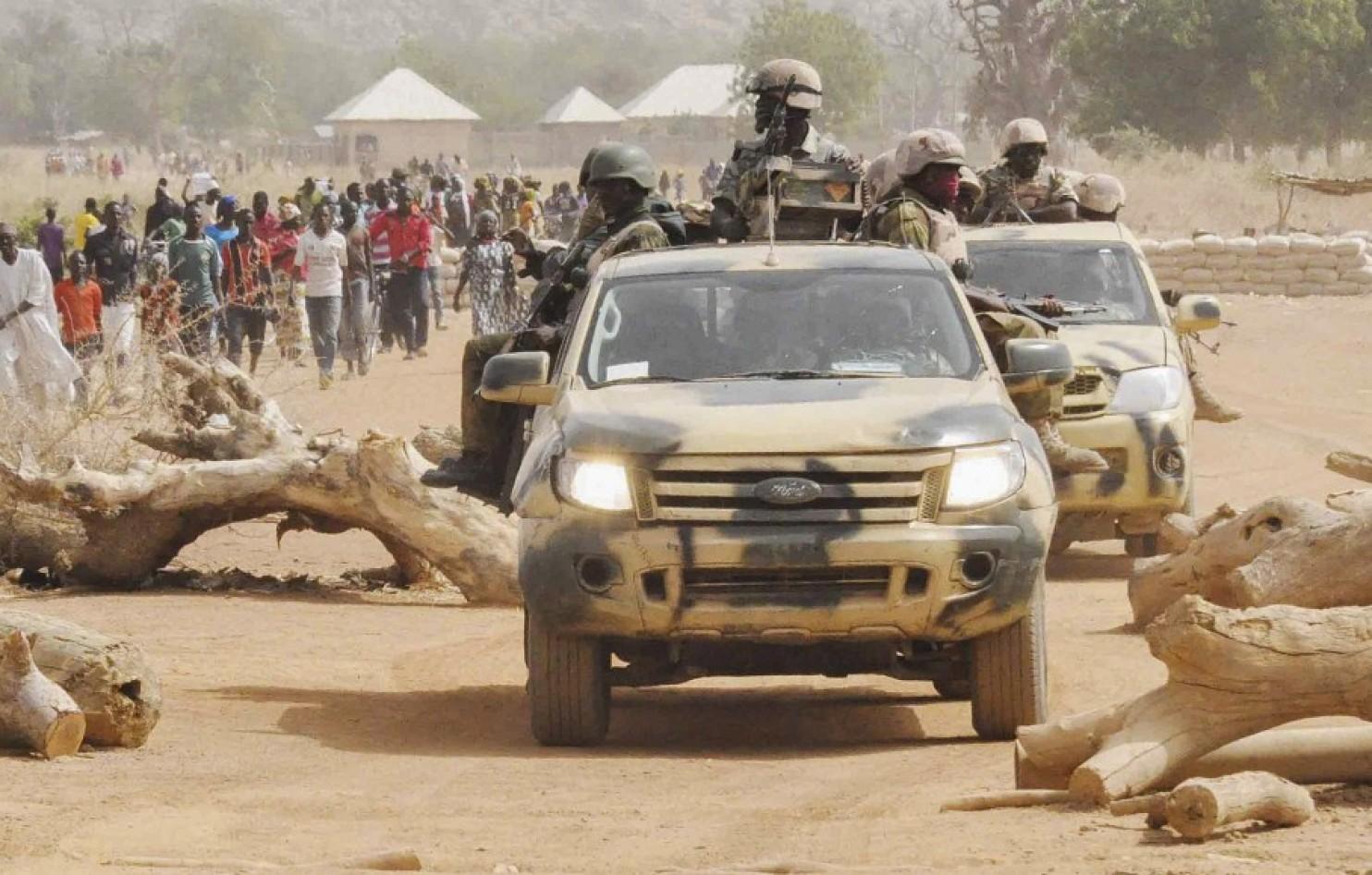 Nigerian Soldiers in Chibok