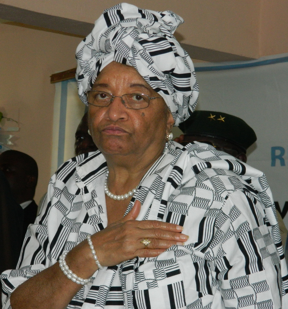 "Former Liberian Ellen Johnson-Sirleaf, also known as ""Iron Lady."" Photo: (c) James K. Fasuekoi/The AfricaPaper"