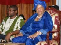 Former Liberian President Ellen Johnson-Sirleaf. Photo: (c) James K. Fasuekoi/ The AfricaPaper