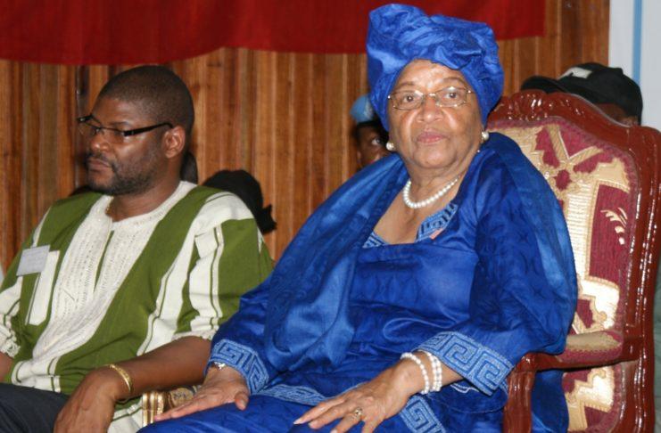 Former Liberian President Ellen Johnson-Sirleaf. Photo: (c) James K. Fasuekoi/ The AfricaPaper