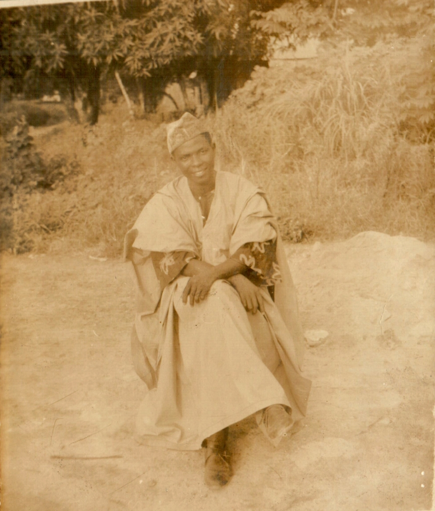 AKB as a young man dressed in an Africa gown. Photo: Family/The AfricaPaper