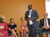 Pastor Collins (Standing) with other award recipients. Photo: The AfricaPaper