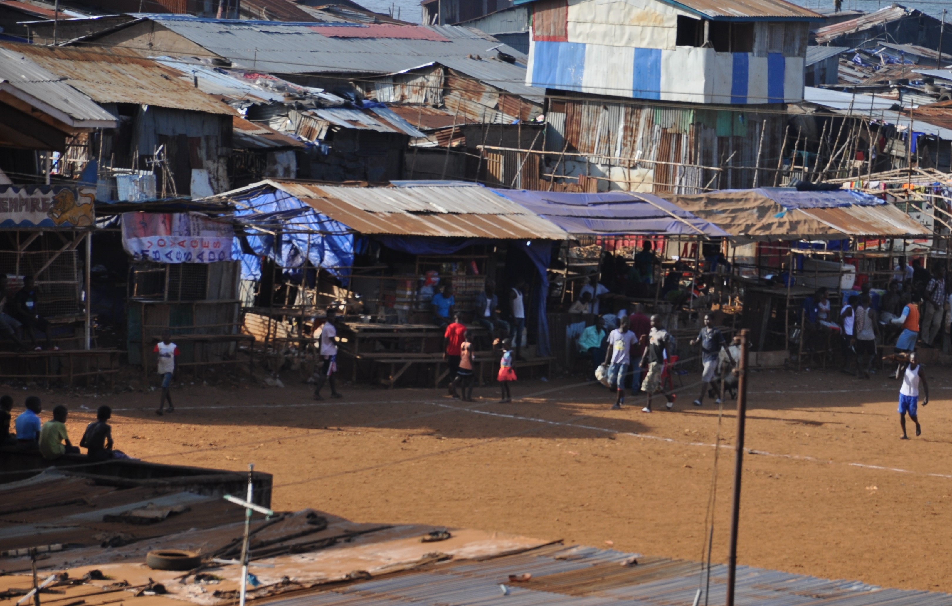 Suspected COVID-19 Victim in Freetown, Sierra Leone. Photo -The AfricaPaper Freetown